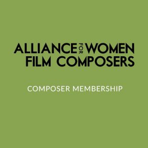 Product categories Sign Up : Alliance for Women Film Composers